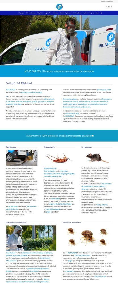 nueva página web de ISLAPLAGAS 5