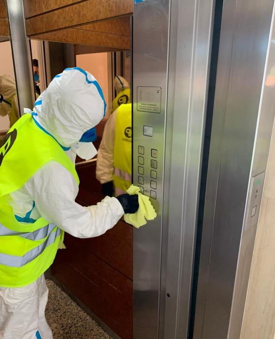 Desinfecciones víricas y bacteriológicas hoteles