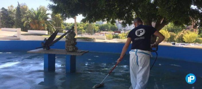 Trabajos de limpieza realizados por ISLAPLAGAS en 2019