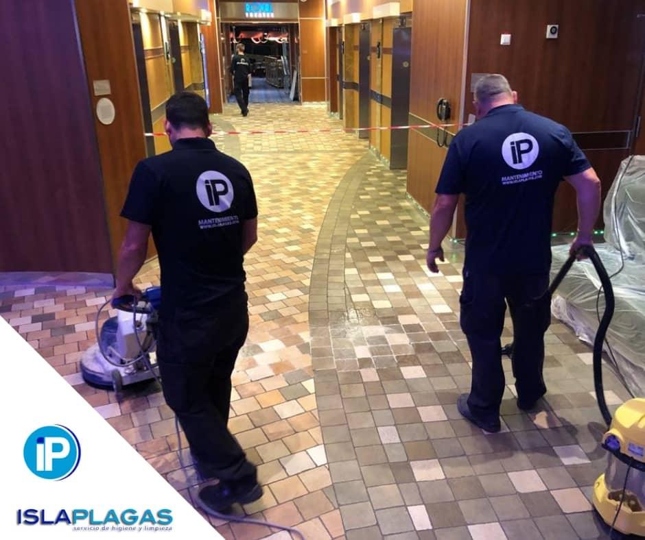 servicio de limpieza en hoteles